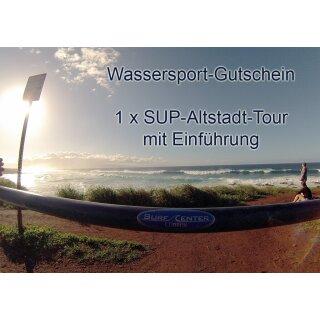 Gutschein SUP-Altstadt-Tour mit Einführung
